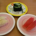 お昼はかっぱ寿司 そして夜は酒盛り そんな日もある(涙)